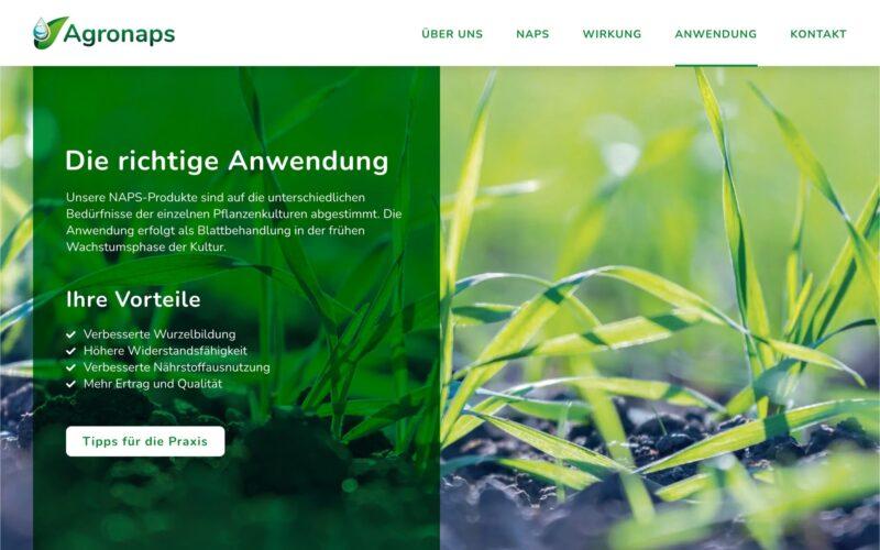 Referenz Agronaps GmbH
