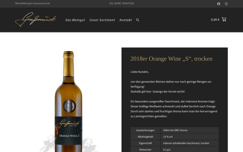 Referenz Weingut Graßmück
